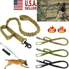 Nylon Retractable Rope Dog Leash Tactical K9 For Large Dog Heavy Duty New Usa