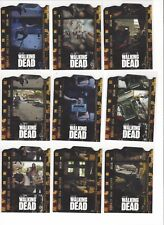 2011 Cryptozoic Walking Dead Season 1 Behind The Scenes Chase Set