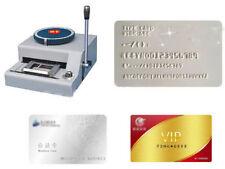 PVC/ID/Credit Card Embosser Code Printer 68-Character Manual Stamping Machine