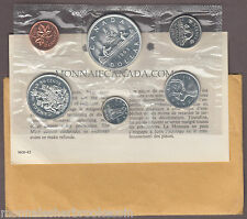1963 Silver Uncirculated Set - Proof Like Set - 6 Coins - B269