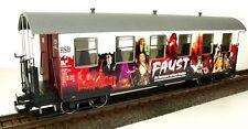 Train Line45 passenger car Hsb Fist, G Scale Garden railway