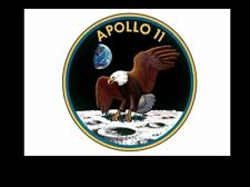 Apollo 11 Official Mission Patch Emblem PHOTO First Moon Landing Mission