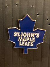 Pin hockey Ahl Maple Leaf St-John's #19