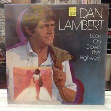 SEALED LP~DAN LAMBERT~Look On Down The Highway~[OG 1981 HOUNDSTOOTH Issue]~