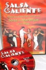 Salsa Caliente with Olga NEW! MERENGUE RUMBA DANCE , EASY FREE SHIPPING!