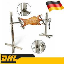 Großer Grill Rotisserie Spieß Röster Rute Holzkohle BBQ Schwein Huhn 15W 30kg