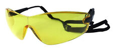 Bolle Viper cycling / safety specs spectacles glasses & neckcord - yellow lens