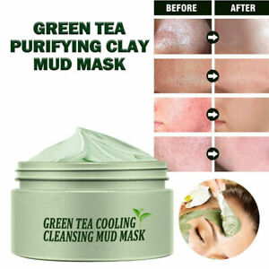 Green Tea Cleansing Solid Mask Pore Acne Clean Oil Control Moisturizing Care
