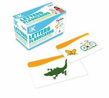 Sylvan Language Arts: Pre-K Letters Flashcards by Sylvan Learning c2013 NEW BOX