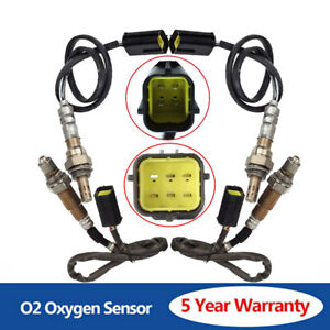 4pcs  O2 Oxygen O2 Sensor Upstream+DownstreamFor 2011-2013 Infiniti QX56 V8 5.6L
