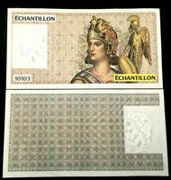 France PTEST10103 ENCHATILLON Banknote World Paper Money UNC Currency Bill Note