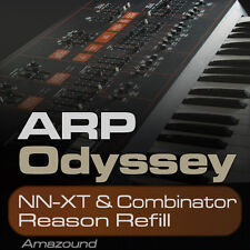 ODYSSEY REASON REFILL 240 COMBINATOR & NNXT PATCHES 1920 SAMPLES 24BIT HQ