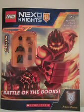 LEGO Nexo Knights Battle of the Books Minifigure Book