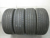 4x Sommerreifen Continental Conti Sport Contact 5 235/55 R18 100V / 7,0 mm