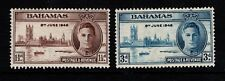 Bahamas 1946 Victory  SG176-77 Mint MH