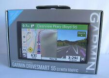 Garmin DriveSmart 55 EX with Traffic GPS Navigator 010-02037-09