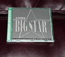 A Little BIG STAR Numbered PROMO CD Sampler CHRIS BELL Psychedelic Stuff Chilton