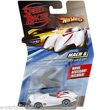 SPEED RACER MACH 6 w/ SAW BLADES Hot Wheels CAR ~ Toys Party Supplies Favors Boy