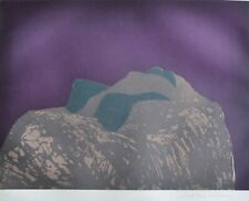 """Fritz Scholder """"The Lovers"""" 1981 Hand signed Etching Native American artist rare"""
