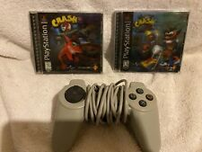 PlayStation 1 Controller, Crash Bandicoot 2 + Warped Bundle
