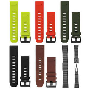 Garmin QuickFit 26mm Bands for Fenix 5x and Fenix 3 (Mutiple Colours Available)
