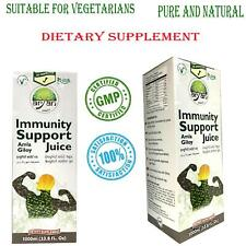 100% Natural Immunity Support Juice Amla Giloy Dietary Supplement 1000 ml