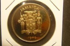JAMAICA 1976 HUMMINGBIRD 25 CENTS PROOF