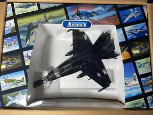 Franklin Mint Armour Collection F-18 Hornet Black Top B11B203 1/48. Our # U377