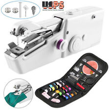 Cordless Portable  Tailor Stitch Hand-held Sewing Machine Home US