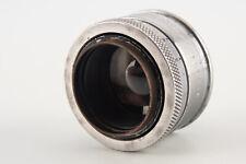 Dallmeyer 1 Inch 25mm f/0.99 Cine Lens Chrome for C Mount EXTREMELY RARE V01