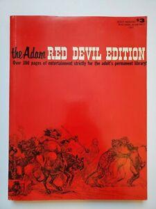 Vintage 1966 The Adam Magazine Red Devil Edition Men's Entertainment Pinups