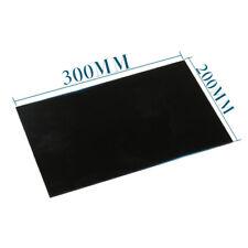 2mm Thick Black Acrylic Board Plexiglass Sheet DIY Material 20*30cm 7.9*11.8inch