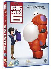 Big Hero 6 Walt Disney UK R2 DVD Brand NEW and Sealed Six Cartoon Movie Don Hall