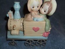 lefton figurine Choo choo ride