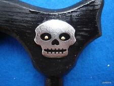 black dark-night GHOST MEDALLION CANE walking stick handmade functional~gift