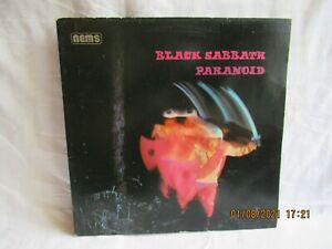 LP BLACK SABBATH PARANOID VINYL
