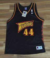 MARC JACKSON Golden State Warriors Champion NBA Jersey Blue 48 XL NWT