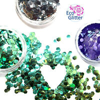 3 Gros Biodégradables Glitters Festival Set Bio Eco Tatouage Fête Maquillage Khe