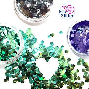 3 CHUNKY Biodegradable Glitters  Festival Set Bio Eco Tattoos Party Make-up Khe