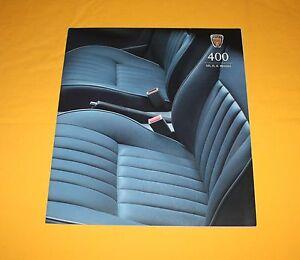 Rover 400 SEi iS iL1999 (GB) Prospekt Brochure Depliant Catalog Prospetto Folder