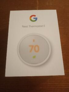 Brand New Nest Programmable Thermostat E - White  A0063 T4000ES