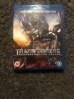 TRANSFORMERS REVENGE OF THE FALLEN 2 disk[Blu-ray] [Region Free], Very Good DVD,