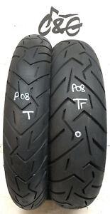 Pirelli Scorpion Trail 2  120/70zr19 & 170/60zr17 Part Worn Motorcycle Tyres P08
