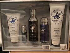 New* Beverly Hills Polo Club BHPC - Blue! 5 Piece Gift Set