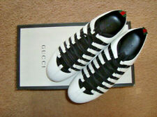 NWT GUCCI Lion Head Logo Lug Sole Sneakers Made in ITALY US Sz 8.5 Gucci Sz 7.5