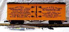 LGB 4174 D.& R.G.R.Y. REEFER          NEW
