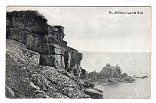 Dr Johnson - Lans End Photo Postcard c1905