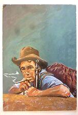 Titelbild Originalzeichnung Bastei wohl für G. F. Unger Zeichner TEAL 1973