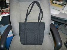 Hand Crafted Quilted Purse Black broadcloth LOOK!!!