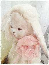 Mohair/Rabbit/Doll Pattern 9.5 inch
